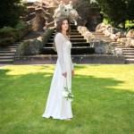 Schlichtes Brautkleid Nähen
