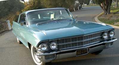 1962 Cadillac Series 62 Coupe de Ville 4 Brush FRONT