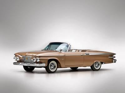 1961 Plymouth Fury Convertible 5