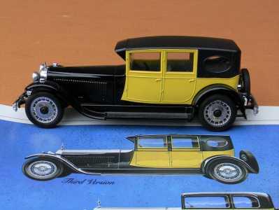 Rio 54 Bugatti Royale Chassis 41100 3rd version pic5