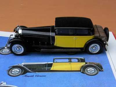 Ixo MUS061 Bugatti Royale Chassis 41100 4th version pic4
