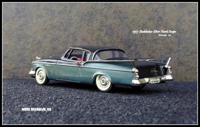 1957 Studebaker Silver Hawk 6