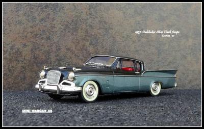 1957 Studebaker Silver Hawk 0