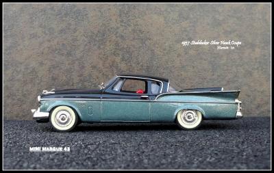 1957 Studebaker Silver Hawk 4