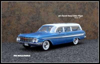1961 Chevrolet Nomad Wgn 0