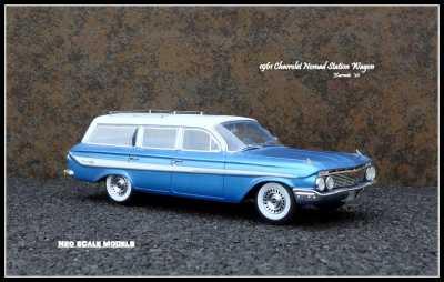 1961 Chevrolet Nomad Wgn 1