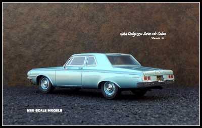 1964 Dodge 330 2dr Sedan 6