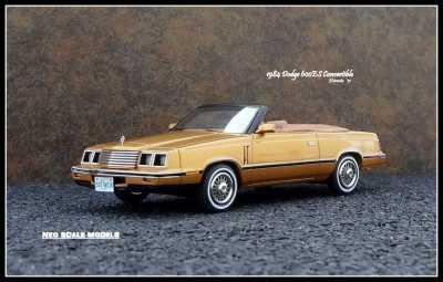 1984 Dodge 600ES Conv 0