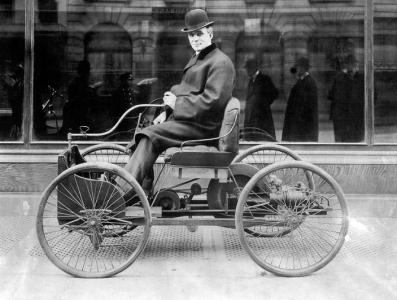 Ford Quadracycle wFord