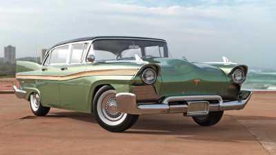 1957 tesla model s what if rendering (2)