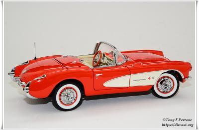 3 FM 57 Corvette Fiberglass