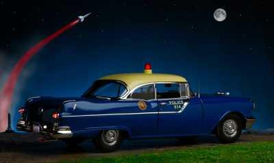 1955 Pontiac police 3A