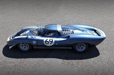 Ecurie Ecosse LM69 Jaguar XJ13 009