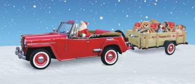 Tan Santa Jeep  (003)