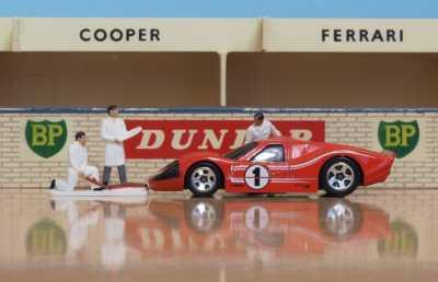 Hot Wheels 1967 Ford GT40 MK IV Le Mans winner 2