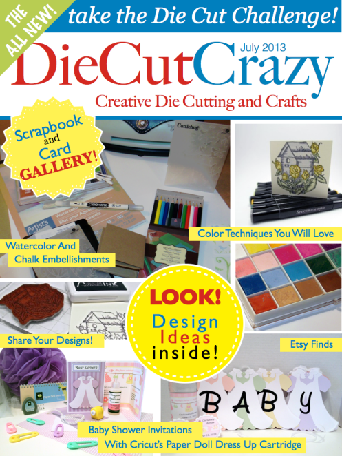 Free Sample Issue from Die Cut Crazy