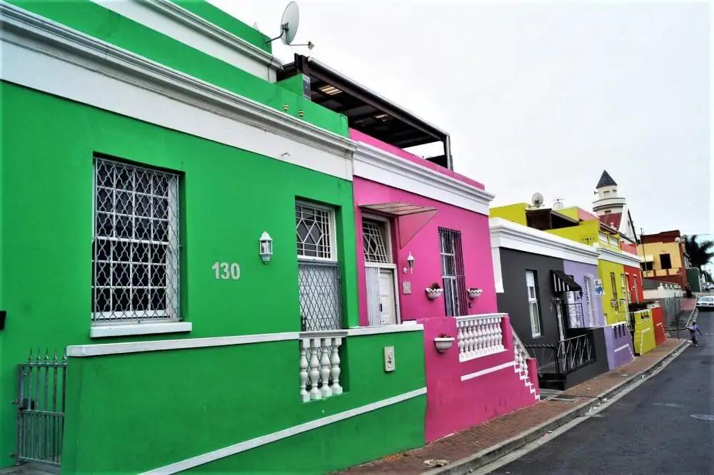 Unterwegs im Bo-Kaap in Kapstadt