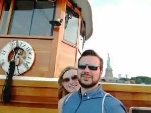 Tanja und Martin in New York