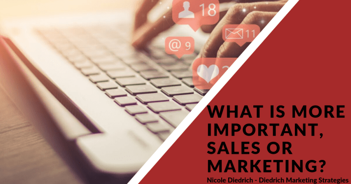 What is more important, Sales or Marketing?