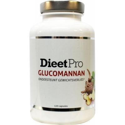 Dieet Pro Dieet Pro glucomannan 120 Capsules