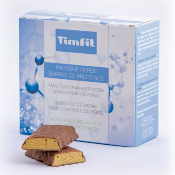 TimFit Maaltijdreep Hazelnoot (Doos 6st.)