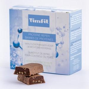 TimFit Maaltijdreep Melk Chocolade (Doos 6st.)