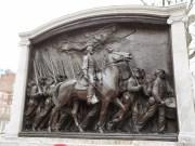 Robert Gould Shaw & 54th Regiment Memorial (das erste afro-amerikanischeRegiment im Bürgerkrieg 1812)