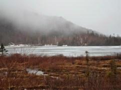 Eis auf dem Wasser