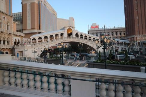 Rialto Brücke vor dem Venecian