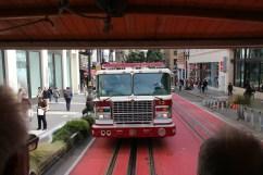 Feuerwehr zuckelt hinterher
