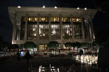 Opernhaus von LA bei Nacht