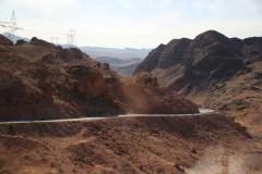 Die Strasse zur Krone des Hoover Damms