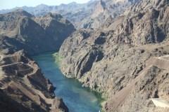 Colorado River nach dem Hoover Staudamm