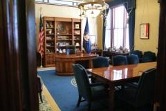 Das Büro des Gouverneurs