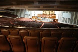 Das Auditorium im Conference Center mit Platz für 21000 Menschen