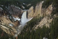 Wasserfall am Yellowstone River