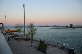Blick auf den Lake Michigan