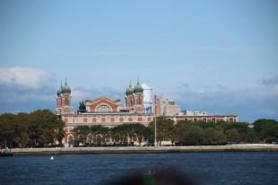 Eingangsgebäude auf Ellis Island