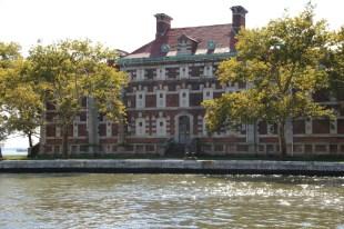 Gebäude der Immigration auf Ellis Island