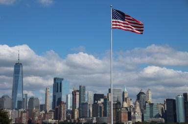 Patriotische Skyline