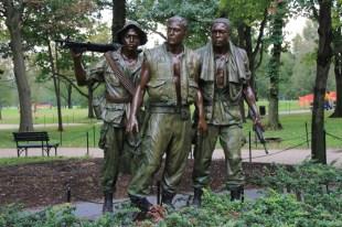 Teil des Vietnam Memorial
