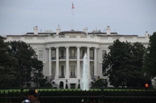 Weißes Haus von Süden