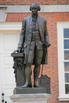 George Washington vor der Independence Hall