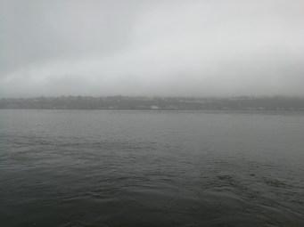 Nebel über dem St. Lorenz Strom