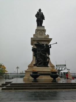 Samuel Champlain, der Gründer von Quebec