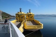 Im Hafen von Torvik