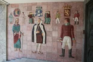Teil des Reliefs