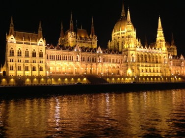 The Parliment from the Danube