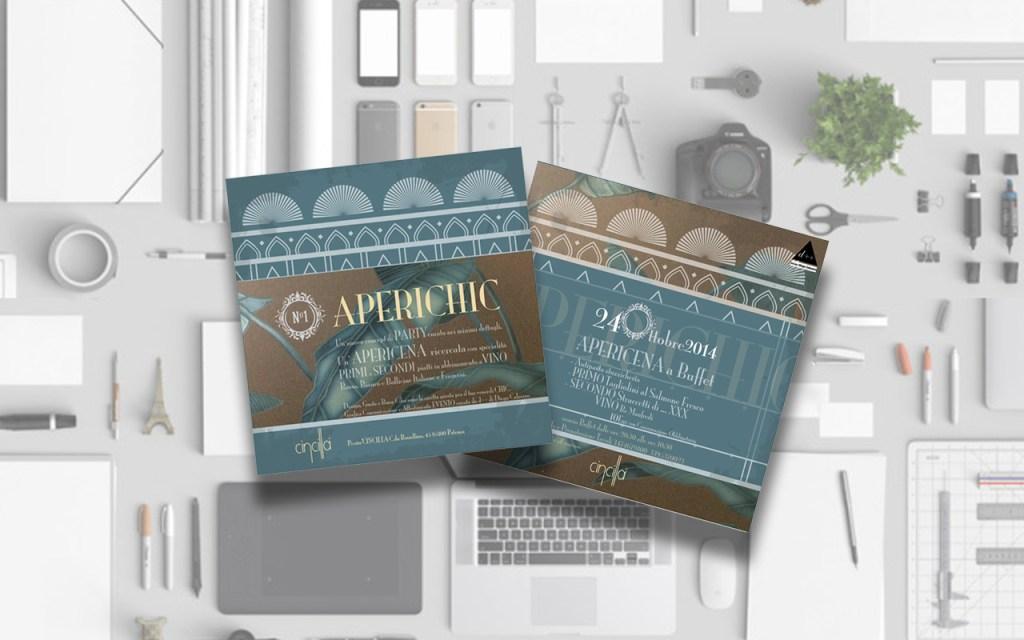 Progettazione Grafica Evento Aperichic