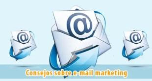 Consejos sobre email marketing